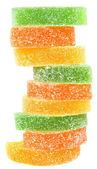 Tour de bonbons multicolores — Photo