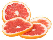 Sliced grapefruit — Stock Photo
