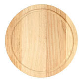 Cutting board top view — Stock Photo