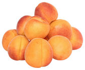 Stack apricots — Stock Photo