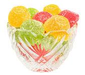 Candy dans la vase isolé — Photo