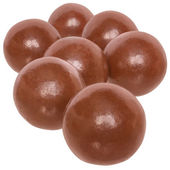 Chocolate balls isolated — Stock Photo