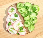 Smörgås — Stockfoto