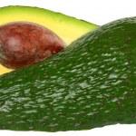 Sliced Avocado isolated — Stock Photo