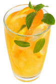 Tangerine and lemon juice — Stock Photo