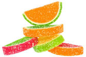 Heap multicolored candy — Stock Photo