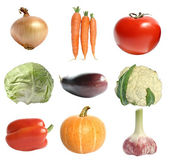 Nine different vegetables — Stock Photo
