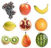 Nine different fruit — Stock Photo