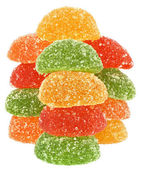 Heap multicolored candy — Stockfoto