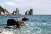 The Faraglioni Rocks, Capri — Stock Photo