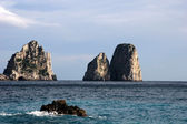 The Faraglioni Rocks, Capri Island — Stock Photo