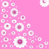 Flower vector, — Stock Photo