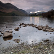 Lake Buttermere and mountain landscape — Stock Photo #9016108