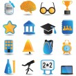 Set of education icons - part 1 — Stock Vector #12178113