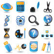 Set of education icons - part 2 — Stock Vector