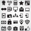 Stock Vector: Set of Internet icons- part 1