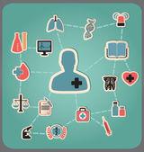 Concept of medicine — Stock Vector