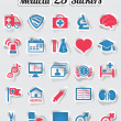 Medical stickers - part 2 — Stock Vector #13758034