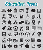 Set of 50 education icons — Stok Vektör
