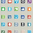 Set of internet bookmarks - part 1 — Stockvector #14148952