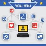 Abstract concept of social media — Stock Vector #16786029