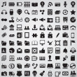 Collection web icons for design - Stock Vector