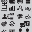 Set of business and money icons - part 2 — Stock Vector #19957183