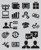 Set of business and money icons - part 2 — Stock Vector