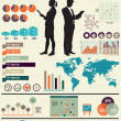 Stockvector : Set of infographic elements for design