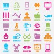 Stock Vector: Set of seo and internet service icons - part 2