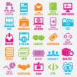 Set of seo and internet service icons - part 3 — Stock Vector