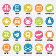 Stock Vector: Set of education icons - part 2