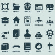 Set of marketing internet and service icons - part 2 — Imagens vectoriais em stock