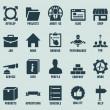 ensemble de marketing internet et les icônes de service - partie 2 — Vecteur