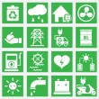 Set of energy saving icons - part 2 — Stock Vector