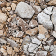 Closeup of stones texture — Stock Photo