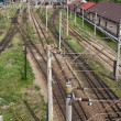 Railway junction — Stock Photo