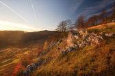 Colorful mountain scenes — Stock Photo