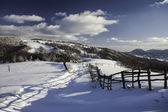 Montagne d'hiver — Photo