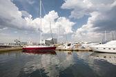 Jachty — Zdjęcie stockowe
