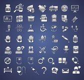 Edicine and healthcare icons — Stock Vector