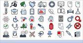 45 ícones médicas — Vetorial Stock