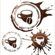 Coffee design elements. vector illustration - Stock Vector