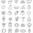 Food icons — Stock Vector #30291065
