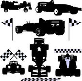 Formula cars — Stock Vector