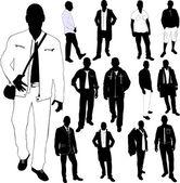 Fashion men — Stock Vector