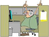 Canto nel cubicolo — Foto Stock