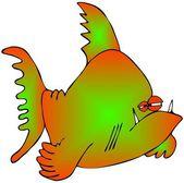 çok renkli balık — Stok fotoğraf
