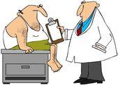 Medical exam — Stock Photo