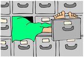 Body in a morgue — Stock Photo